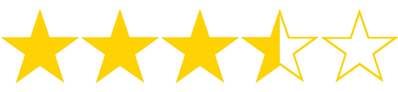 Resultado de imagem para 3,5 stars