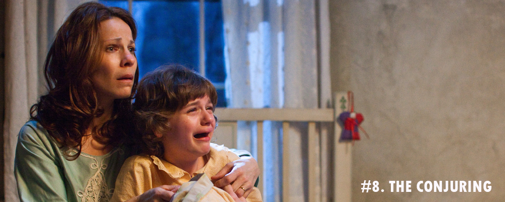 8.THE CONJURING