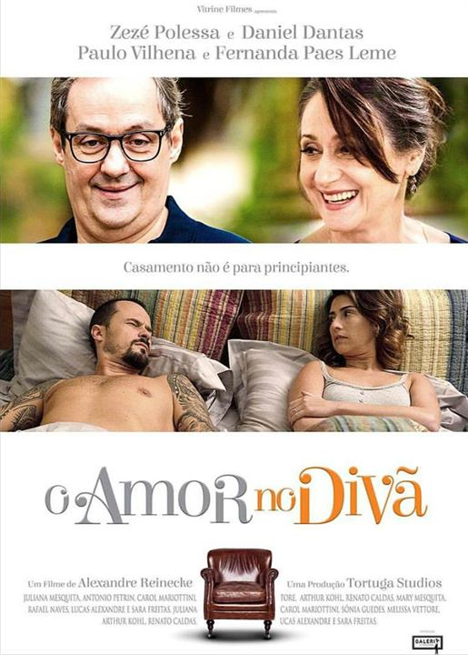 Capa do filme, Amor no divã