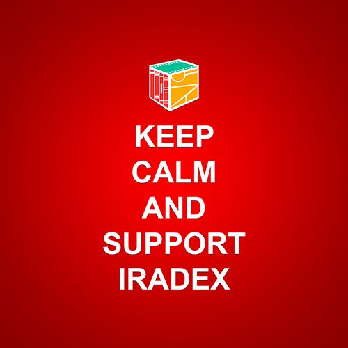 Keep Calm And Suport Iradex