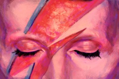 David Bowie - Por Caique Pituba