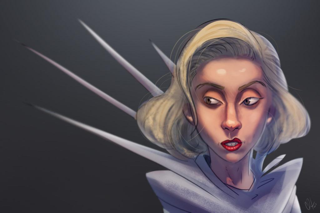 Estante Iradex - Lady Gaga (por Caique Pituba)
